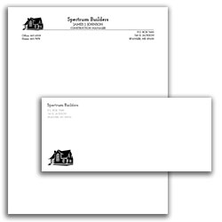 Matching Letterhead and Envelope 10