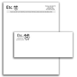 Matching Letterhead and Envelope 2