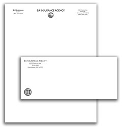 Matching Letterhead and Envelope 6