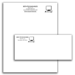 Matching Letterhead and Envelope 7