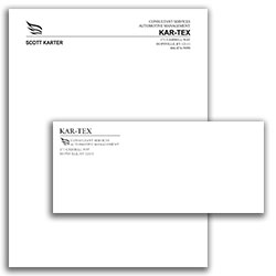 Matching Letterhead and Envelope 8