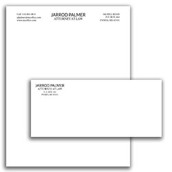 Matching Letterhead and Envelope 12