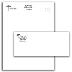 Matching Letterhead and Envelope 14