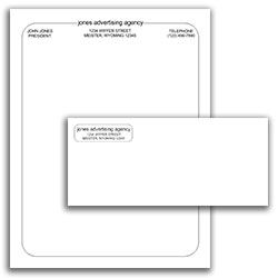Matching Letterhead and Envelope 18
