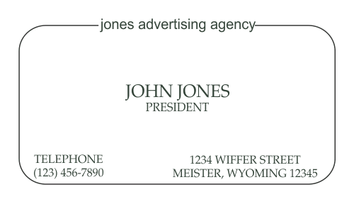 Business Card Template 18-4
