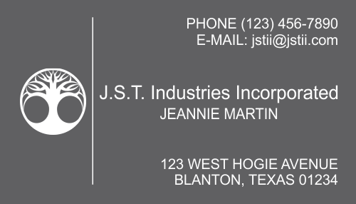Business Card Template 19-3